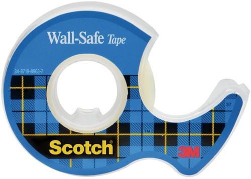"3 Pack Scotch Wall-Safe Tape .75""X650""-SC183"