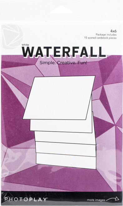 """PhotoPlay Maker Series 4""""X6"""" Manual-White Waterfall -PPP2159 - 709388321591"""
