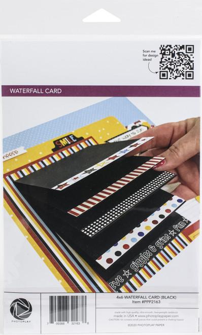 "PhotoPlay Maker Series 4""X6"" Manual-Black Waterfall -PPP2163"