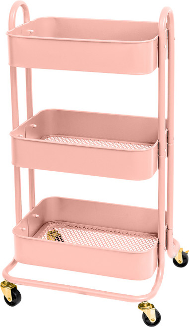 We R A La Cart Storage Cart With Handles-Pink -WR661304
