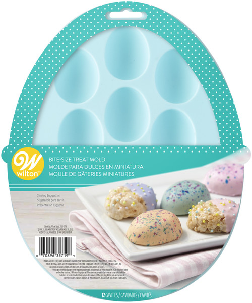 3 Pack Treat Mold 12 Cavity-Egg 12 Cavity -W5719 - 070896357199