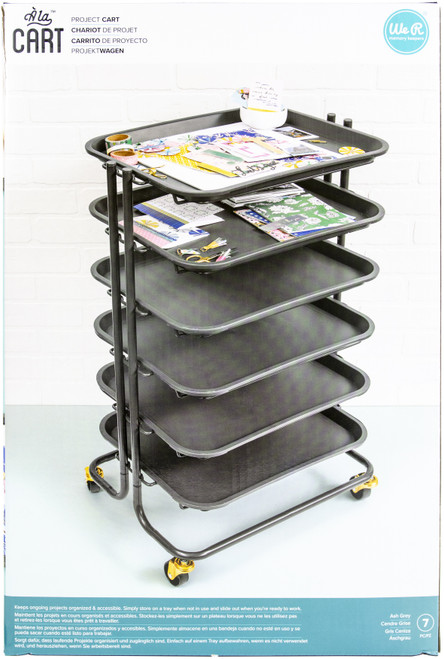 We R Memory Keepers Project Cart With 6 Removable Trays-WR661060 - 633356610601
