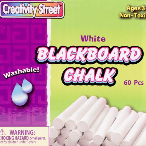 6 Pack Blackboard Chalk Bucket 60/Pkg-White -1760 - 021196017603