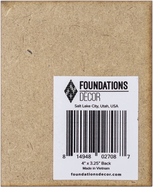 """12 Pack Foundations Decor Magnetic Shadow Box Board Blank 4""""X3.25""""-Outside Edge Position -027087 - 814948027087"""