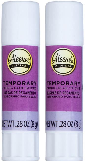 Aleene's Temporary Fabric Glue Sticks 2/Pkg-.28oz -40683