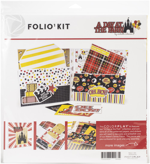 PhotoPlay Folio Kit-A Day At The Park -PPP9463 - 792436594634