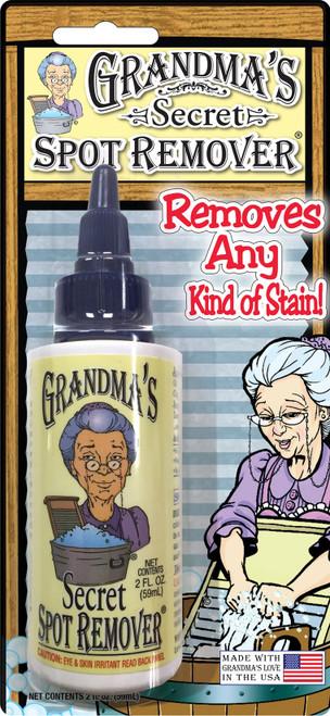 Grandma's Secret Spot Remover Blister Card -2oz -GS1001BL - 784923000032