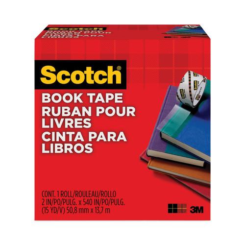 """Scotch Book Tape Boxed-2""""X15yd -14659-3M - 021200073830"""