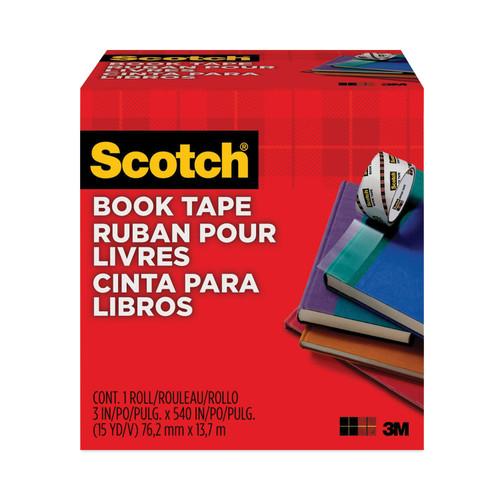 """Scotch Book Tape Boxed-3""""X15yd -14667-3M - 021200073847"""