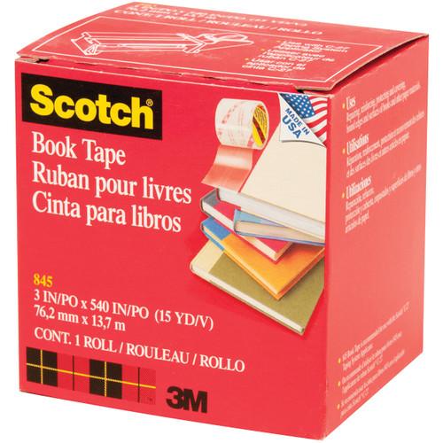 """Scotch Book Tape Boxed-3""""X15yd -14667-3M"""