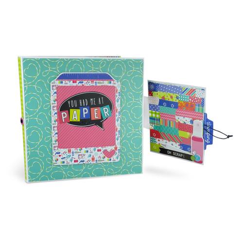 "PhotoPlay Maker Series Folio 6""X6""-White -PPP9451"