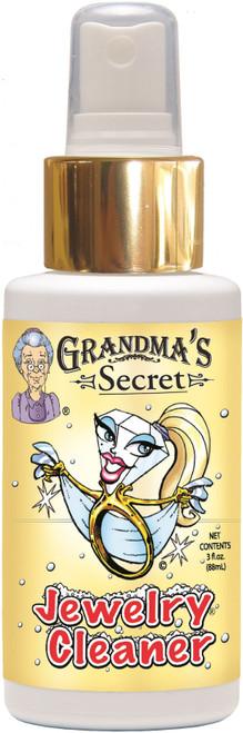 2 Pack Grandma's Secret Jewelry Cleaner Blister Card-3oz -GS9001BL