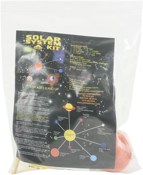 SmoothFoam Solar System Kit-Painted -K-101P - 759633777741