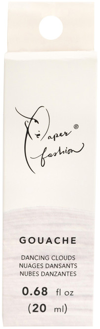 Paper Fashion Gouache Paint .68oz -Dancing Clouds -ACPFG349-49333 - 718813493338