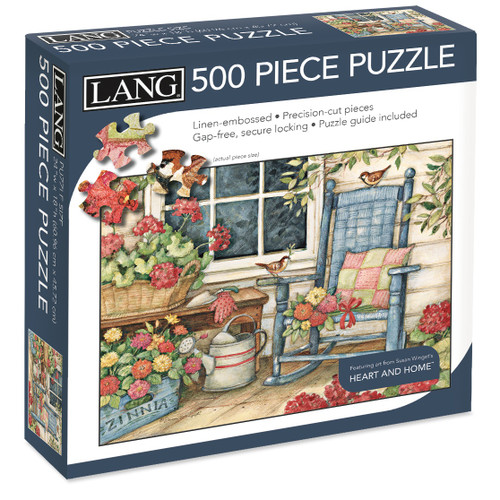 """Jigsaw Puzzle 500 Pieces 24""""X18""""-Rocking Chair -50391-21"""