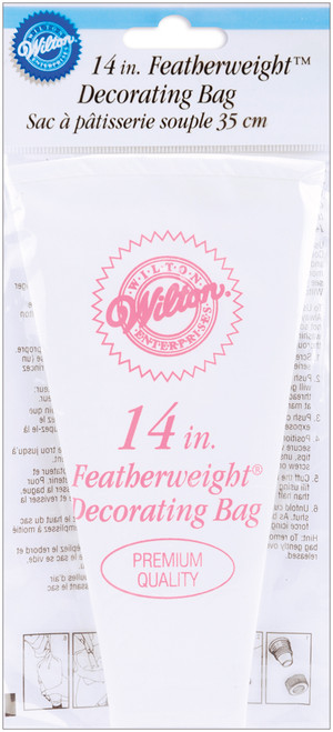 """Featherweight Decorating Bag-14"""" -W5140 - 070896401403"""