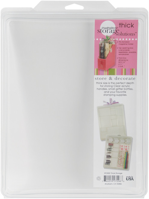 """Thick Stuftainer-8.5""""X11""""X.63"""" -STOR02 - 744019172968"""