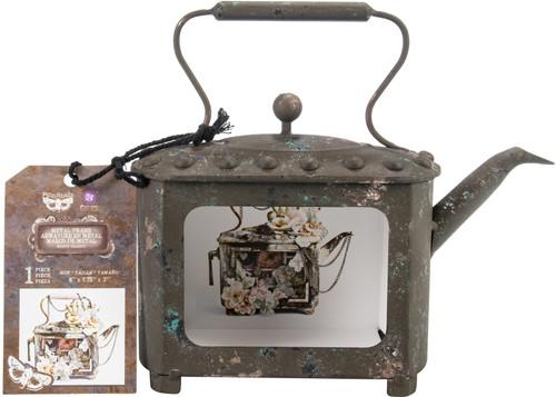 Prima Marketing Altered Metal Frame-Rusty Pot -967062 - 655350967062