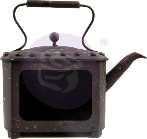 Prima Marketing Altered Metal Frame-Rusty Pot -967062