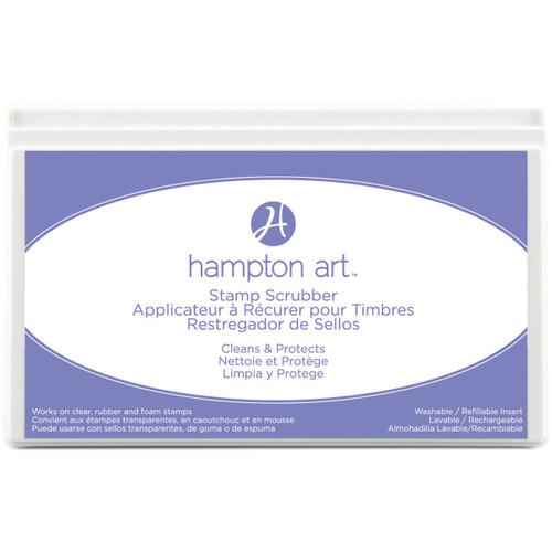 "Hampton Art Stamp Scrubber Cleaning Pad & Case 7.5""X4.5""-SP5049 - 729632050497"