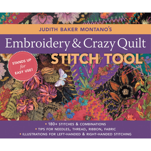 C & T Publishing-Embroidery & Crazy Quilt Stitch Tool -CT-10644 - 7348171064499781571205339
