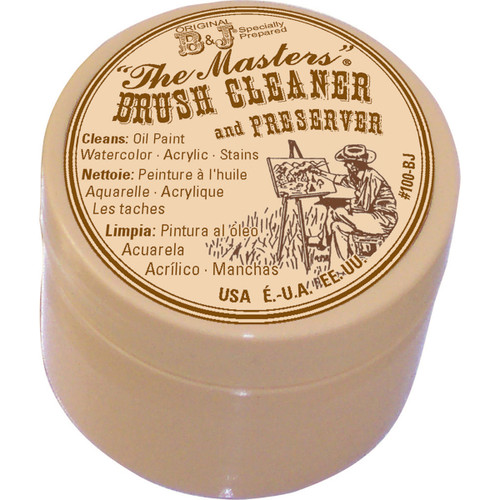 The Master's Brush Cleaner & Preserver-1oz -100-BJ - 044974100243