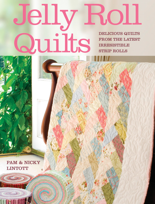 David & Charles Books-Jelly Roll Quilts -DC-28637 - 8064884204979780715328637
