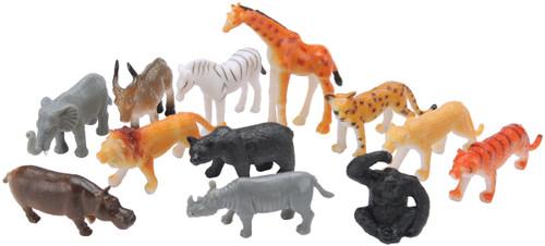 Party Favors 12/Pkg-Jungle Animals -390316