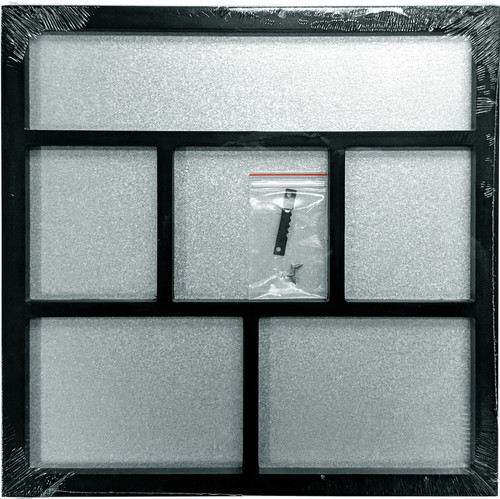 "Foundations Decor Magnetic Shadow Box 12""X12""-Black -026028 - 814948026028"