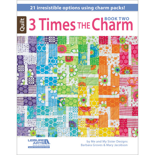 Leisure Arts-3 Times The Charm Book Two -LA-5952 - 0289060595269781464706608