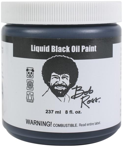 Bob Ross Liquid Black 237ml-Black -0006227 - 4001128150130