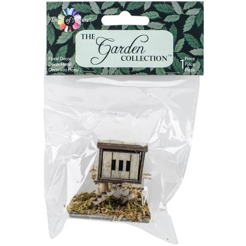 "Micro Mini Garden Chicken Coop 2""X1.75""-Wood -MD55260 - 684653552606"