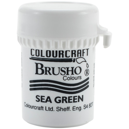 Brusho Crystal Colour 15g-Sea Green -BRB12-SGN - 5060133851363