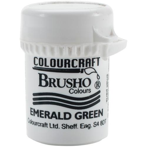 Brusho Crystal Colour 15g-Emerald Green -BRB12-EG - 5060133854593