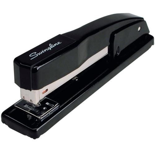 Swingline Commercial Full Strip Desk Stapler-Black -S7044401