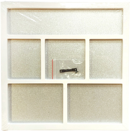 "Foundations Decor Magnetic Shadow Box 12""X12""-White -026011 - 814948026011"