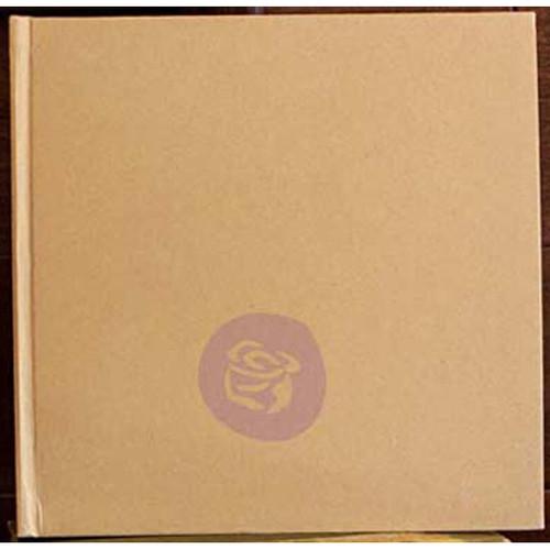 "Prima Memory Hardware Chipboard Album 8.5""X8.5""-Kraft Large W/6 Pages -991128"