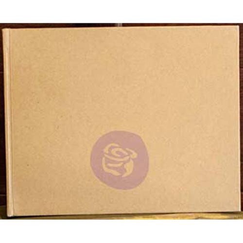 "Prima Memory Hardware Chipboard Album 6""X7.5""-Kraft Short W/6 Pages -991111"