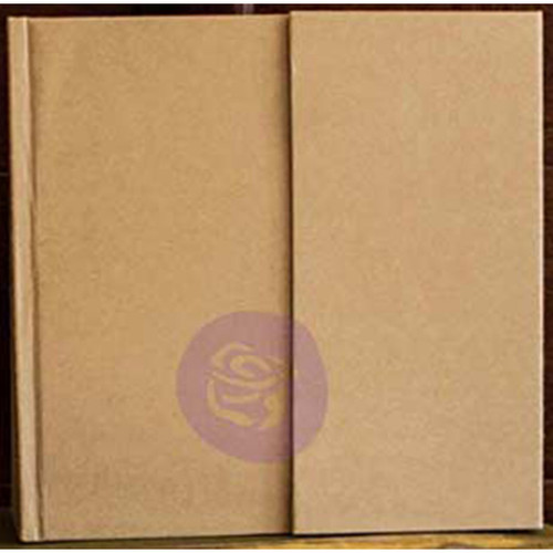 """Prima Memory Hardware Chipboard Album 6.5""""X6.25""""-Kraft Magnetic W/8 Pages -991104"""