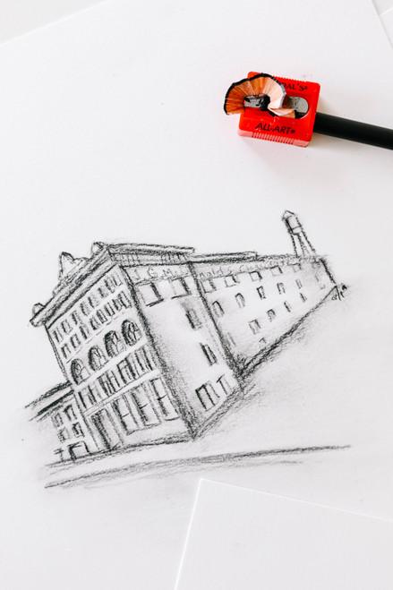 Little Red All-Art Pencil Sharpeners 3/Pkg-S6503BP