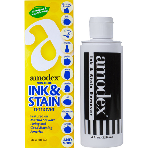 Amodex Ink & Stain Remover 4oz -104A - 083769104004