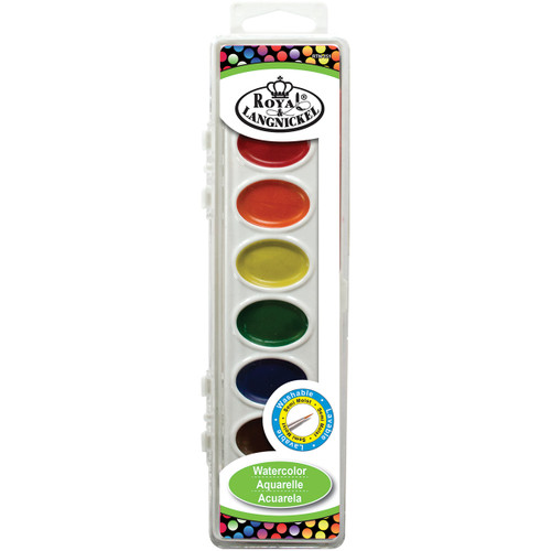 Watercolor Cake Set-Assorted Colors -RTN-151 - 090672358721