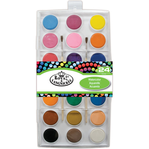 Watercolor Cake Set-Assorted Colors -RTN-152 - 090672358738