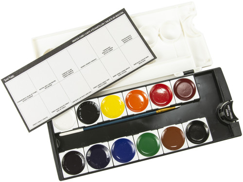 Brea Reese Watercolor Pan Paint Set 13/Pkg-Primary -BR33338