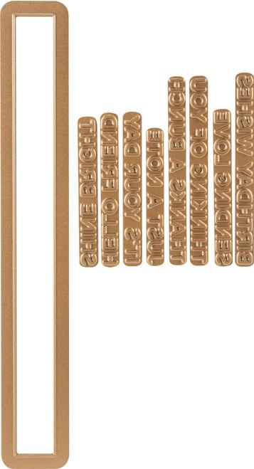 Spellbinders Glimmer Hot Foil Plate-Everyday Sentiments II -GLP094