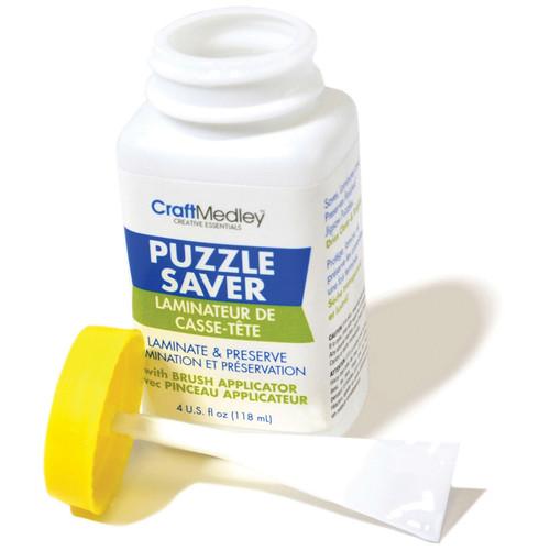 Craft Medley Puzzle Saver Glue-4oz -GL600