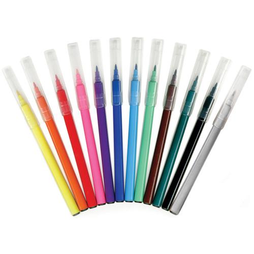 Living In Color Markers .2mm Fine Tip 12/Pkg-Multicolor -PA470