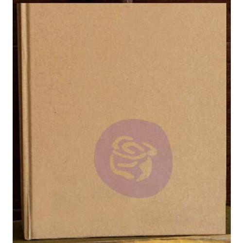 "Prima Memory Hardware Chipboard Album 4.5""X4.5""-Kraft Tiny W/6 Pages -993009"