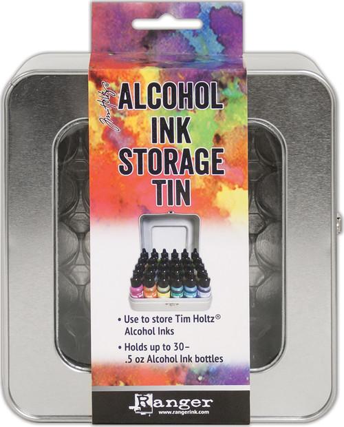 Tim Holtz Alcohol Ink Storage Tin-TAC58618 - 789541058618