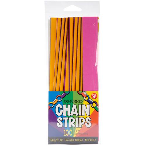 """Stick-A-Licks 100/Pkg-Chain Strips 1""""X8"""" -177 - 081187001776"""